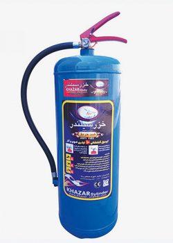 کپسول آتش نشانی آب و گاز 10 لیتری خزر
