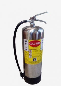 کپسول آتش نشانی آب و گاز 9 لیتری استیل