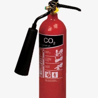 کپسول آتش نشانی گاز کربنیک 10 کیلویی