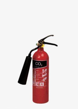 کپسول آتش نشانی گاز کربنیک 2 کیلویی