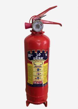 کپسول آتش نشانی پودر و گاز 1 کیلویی دژ