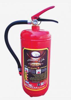 کپسول آتش نشانی پودر و گاز 4 کیلویی خزر