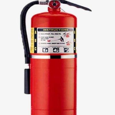 کپسول آتش نشانی پودر و گاز 12 کیلویی