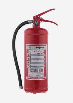 کپسول آتش نشانی پودر و گاز 4 کیلویی سپهر
