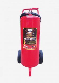 کپسول آتش نشانی پودر و گاز 50 کیلویی خزر