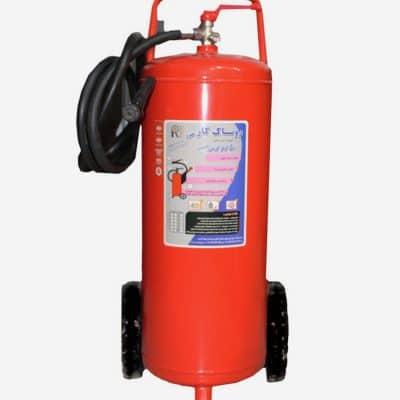 کپسول آتش نشانی پودر و گاز 50 کیلویی روناک