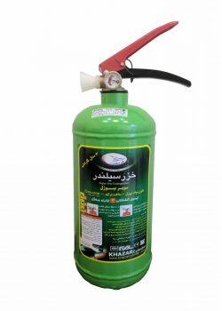 کپسول آتش نشانی سوپر بیوژل 3 لیتری خزر