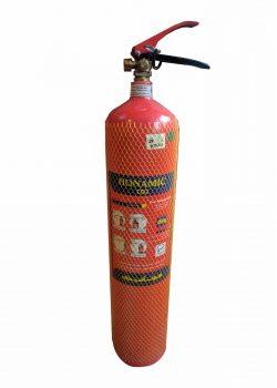 کپسول آتش نشانی گاز کربنیک 6 کیلویی هونامیک