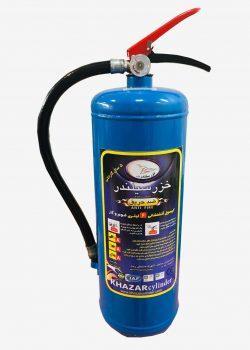 کپسول آتش نشانی فوم و گاز 6 کیلویی خزر سیلندر